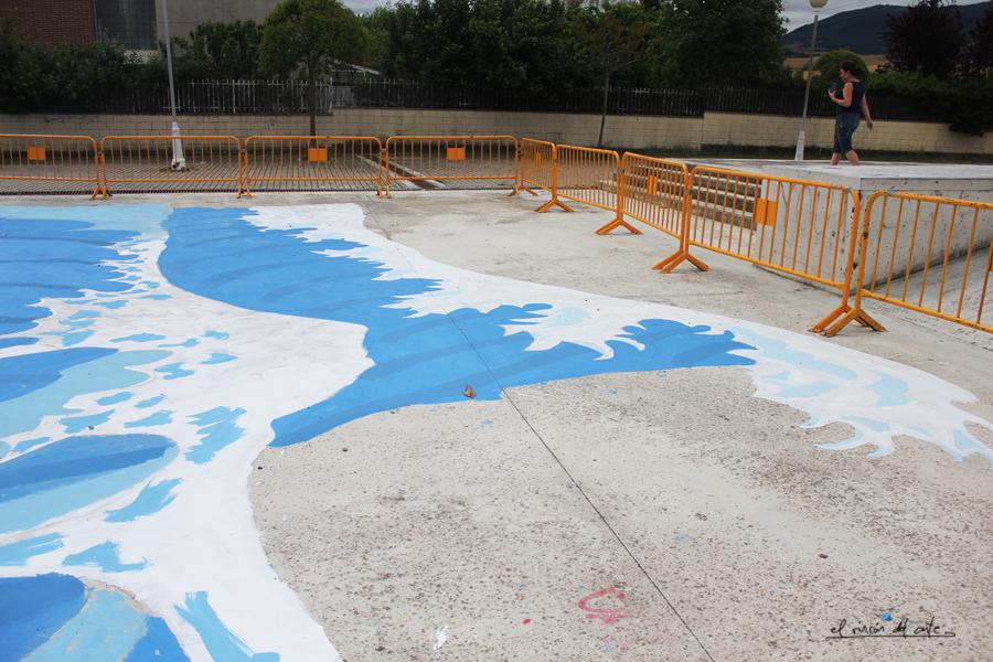 El rinc n del arte espacio creativo arte urbano for Piscinas de ansoain