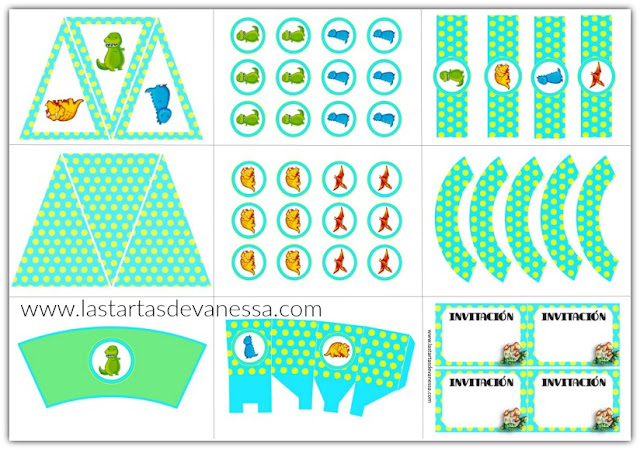 Imprimible Kit de fiesta gratuito