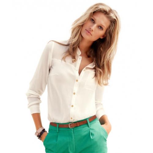 Artes e Estilos: Blusas estilo camisa transparentes ou quase!