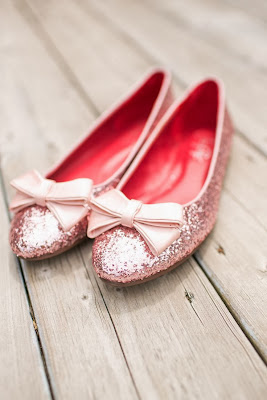 Glitter Pink Shoes