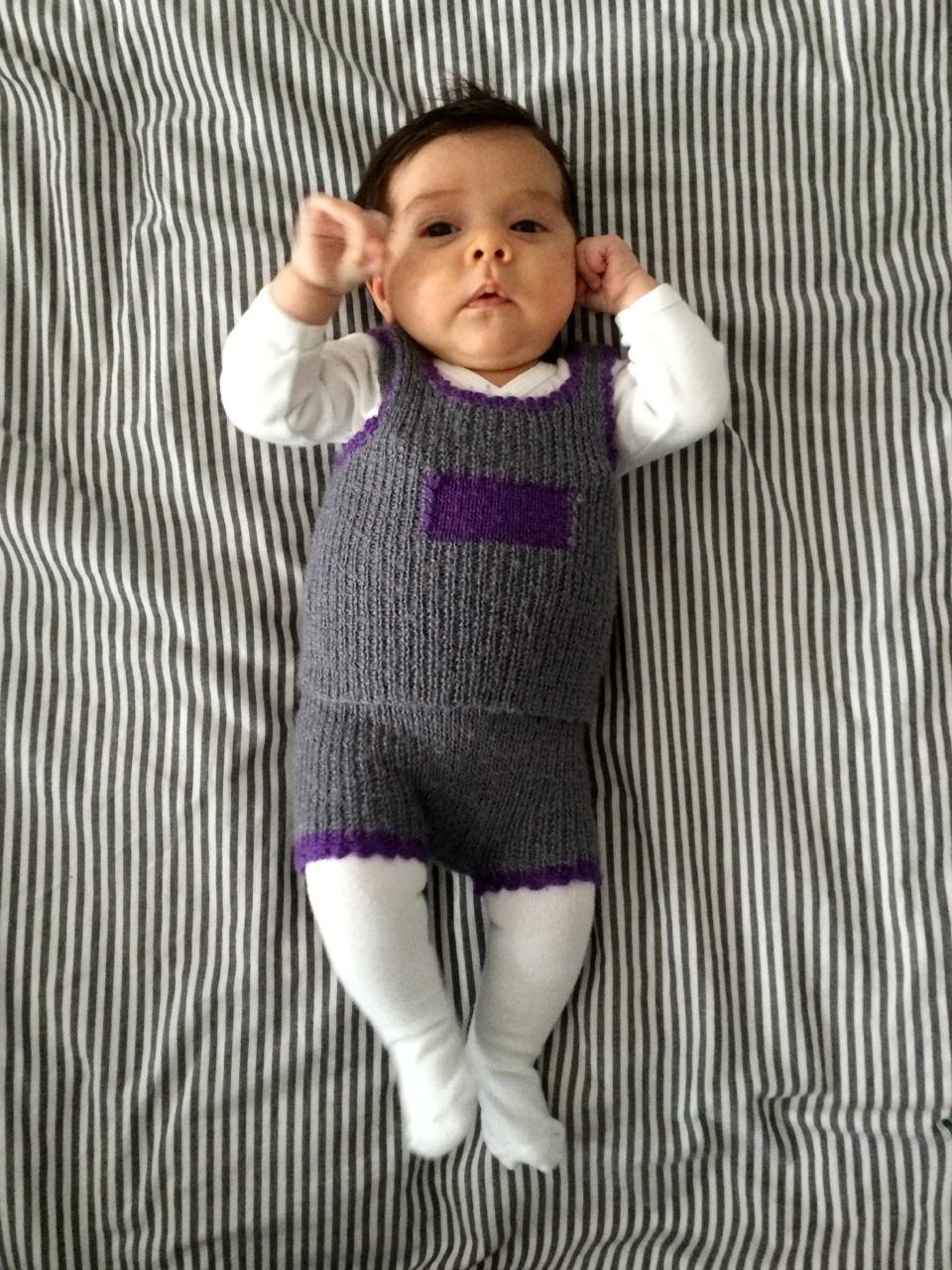 Emilie johnson romy et la layette de son papa - Colette gaze et son bebe ...