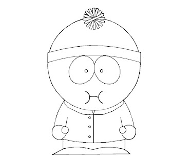 #7 Stan Marsh Coloring Page