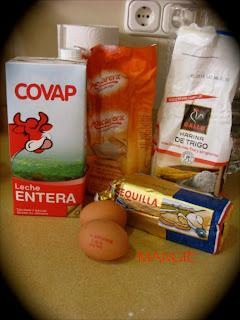 Ingredientes crepes caseros