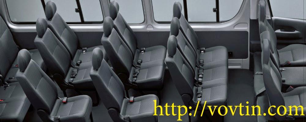 Cho thuê xe đưa đón khách du lịch xe 16 chỗ Mercedes Benz đời mới