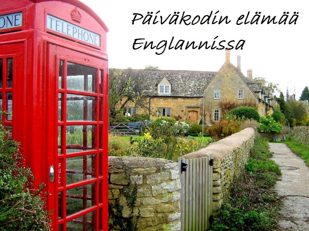 Päiväkodin elämää Englannissa