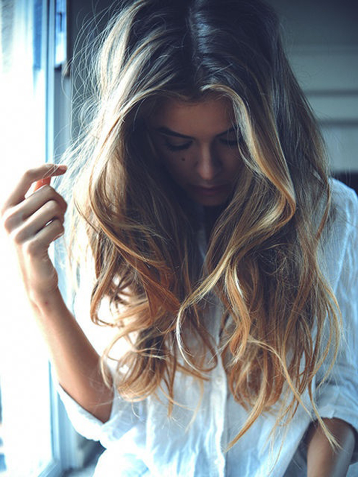Light blonde hair tumblr girls