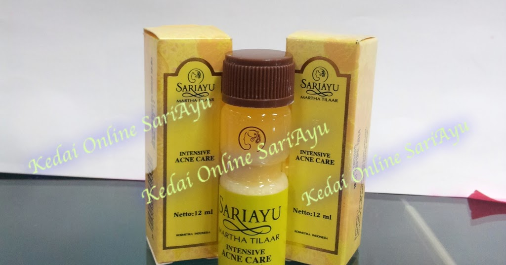 Kedai Online SariAyu Lotion Jerawat Dan Mujisat Jerawat