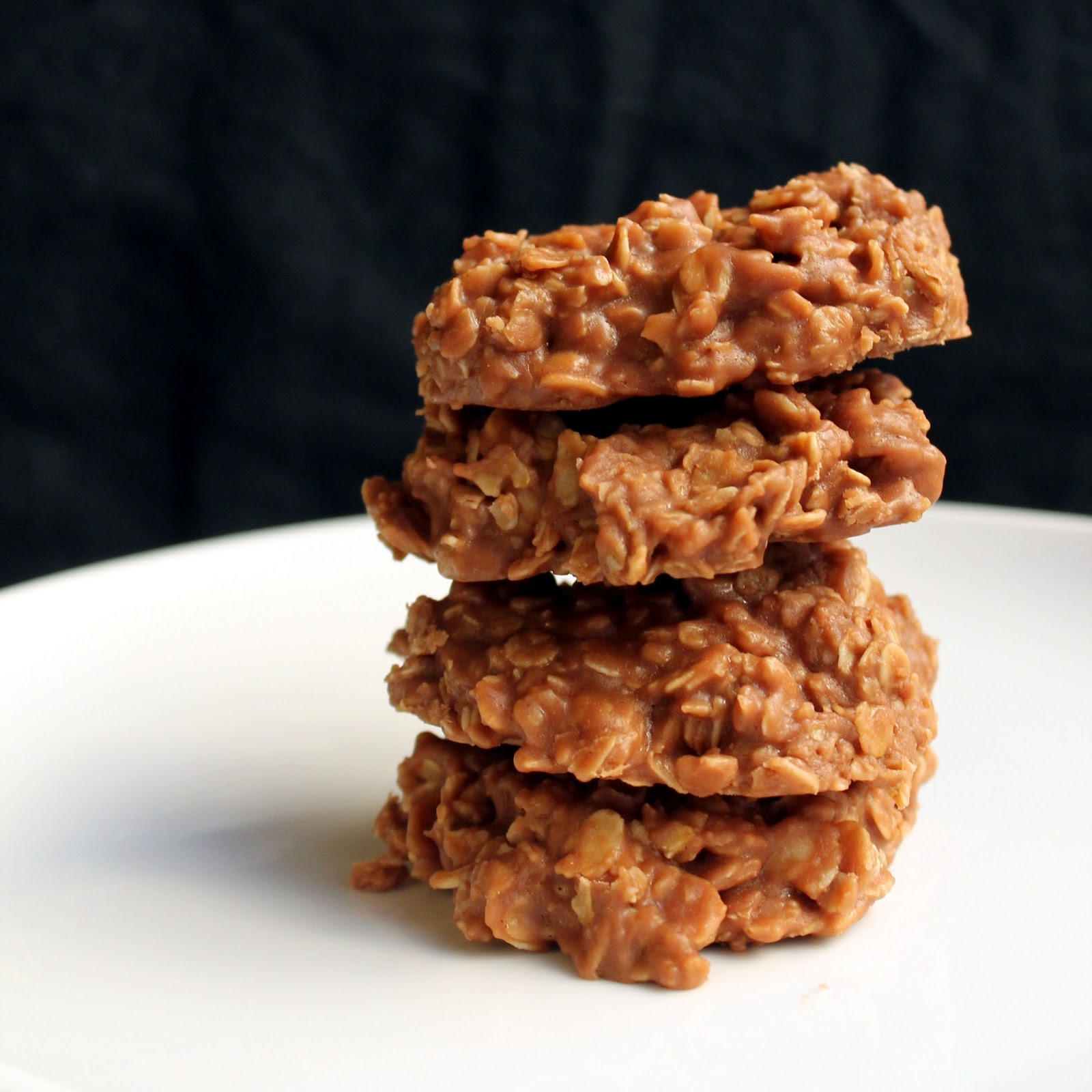 Peanut Butter & Nutella No Bake Cookies - thestayathomechef.com