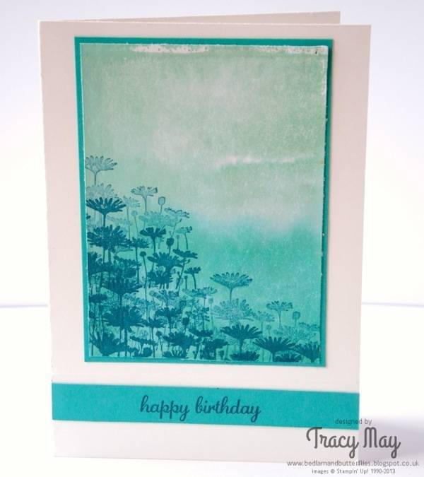 Stampin Up card making demonstrator Tracy May best of flowers
