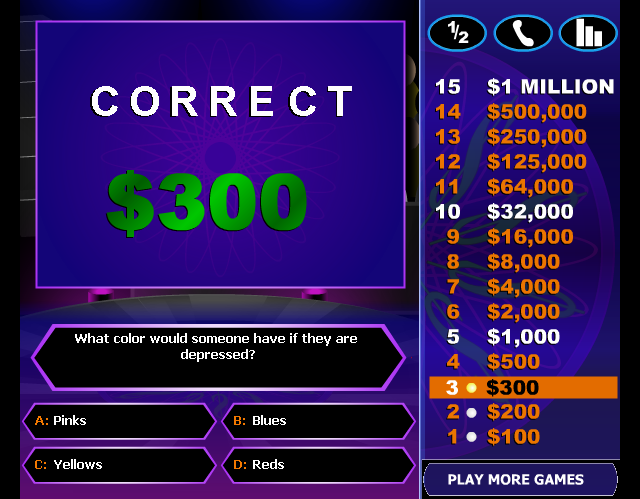 Who Wants to be a Millionaire