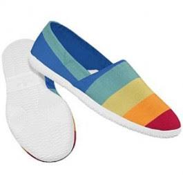 El zapato de la semana para ELLOS \u003e\u003e la colorida alpargata \u0027Toe Touch\u0027 de \u0027 Adidas\u0027