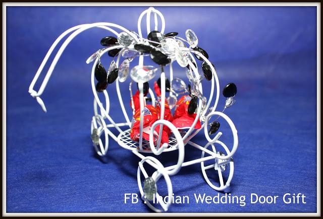 Indian Wedding Door Gift Cinderella Carriage