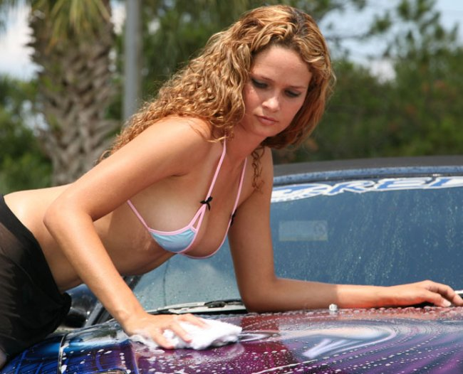 Hot Car Wash Babes