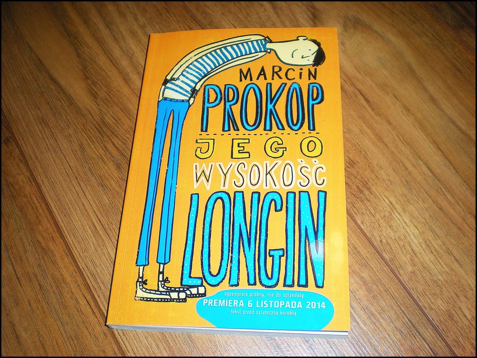Marcin Prokop | Jego wysokość Longin | wyd. ZNAK
