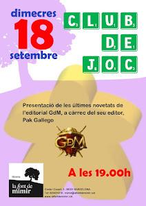 CLUB DE JOC