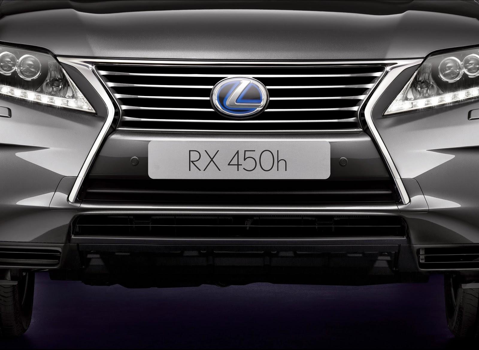 2015 Lexus RX 450h front detail