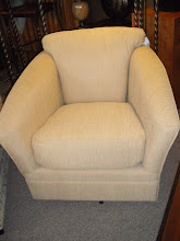 Beige Swivel Chair
