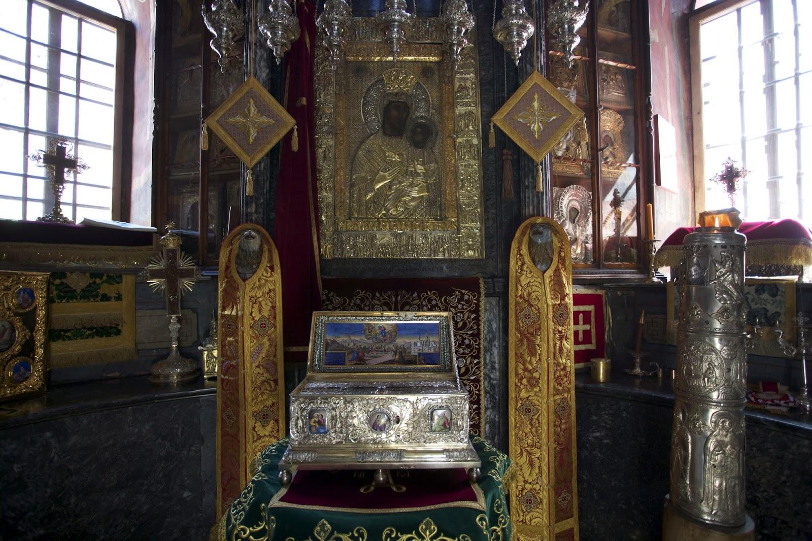 Η Τιμία Ζώνη της Υπεραγίας Θεοτόκου (Ιερά Μεγίστη Μονή Βατοπαιδίου Αγίου Όρους). http://leipsanothiki.blogspot.be/