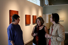 Kathi, Gwen and Deanna at Buchanan Gallery