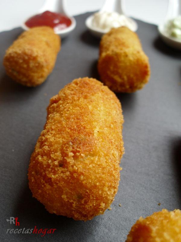 Croquetas de tortilla de papa