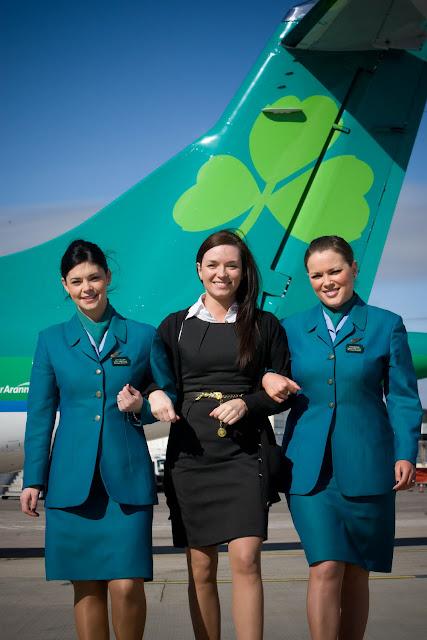 the airlines aer lingus world stewardess crews