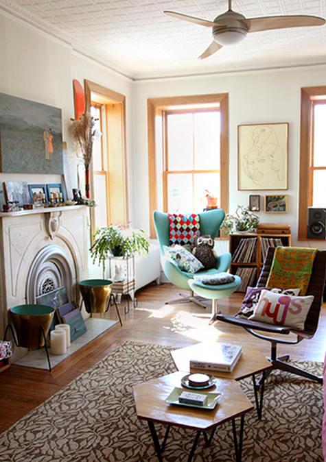Sleek And Colourful Retro Interior Design Ideas Decorology