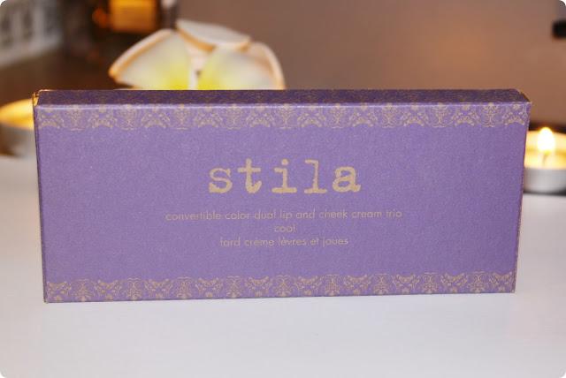 Stila Convertible Color Dual Lip and Cheek Cream Trio in Cool