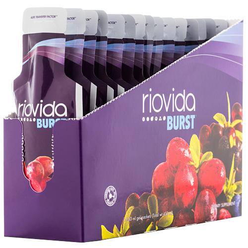 RIOVIDA Concentrado de Frutas (BURST (gel)