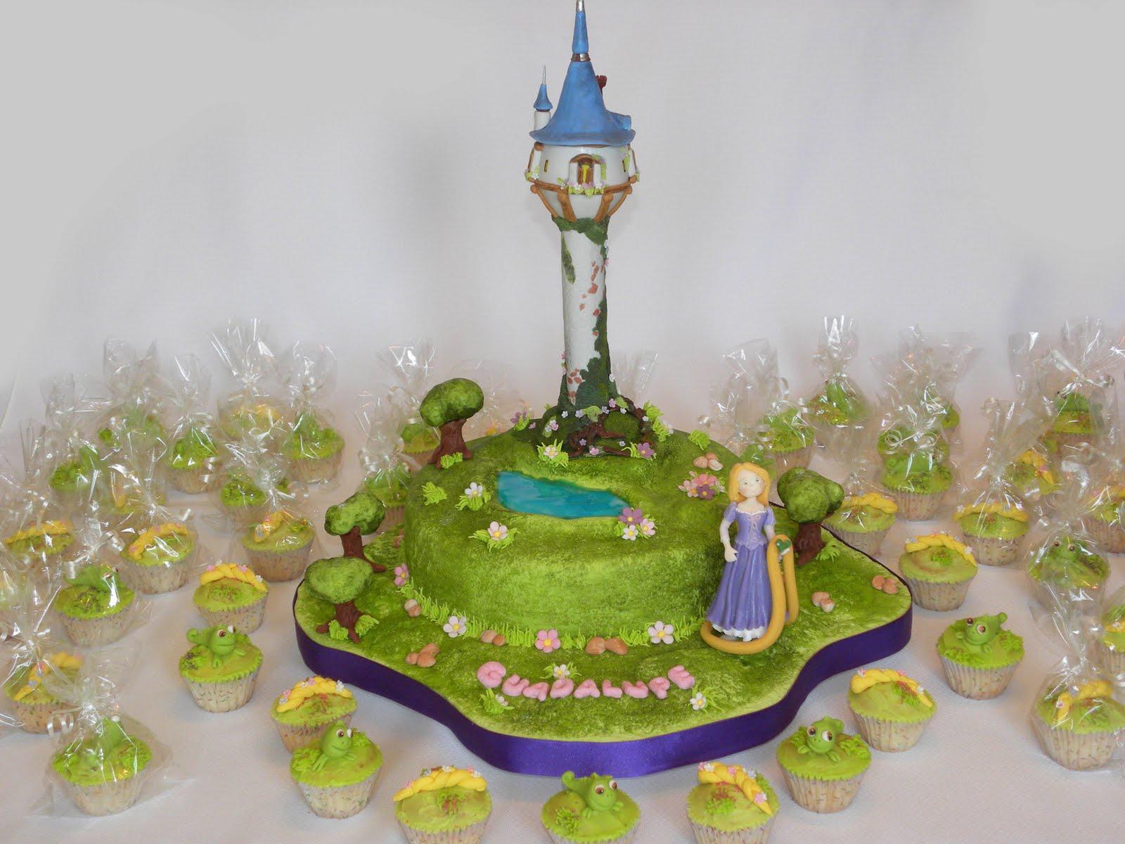 Dulce Denise: Rapunzel con Cupcakes