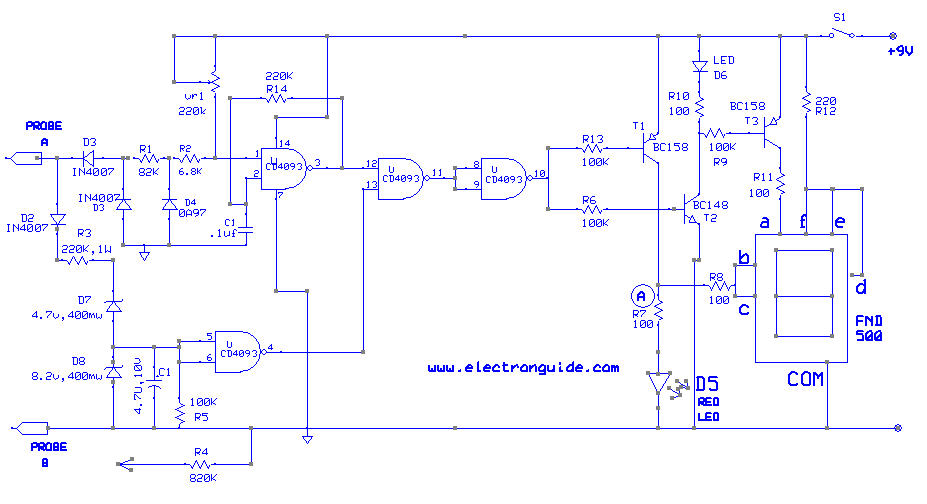 Astonishing Digital Ac Dc Voltage Tester Circuit Diagram The Circuit Wiring 101 Ferenstreekradiomeanderfmnl