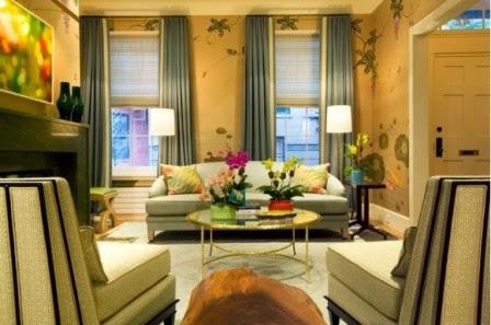 Tips Memilih Interior Wallpaper Untuk Berbagai Model Ruang Tamu