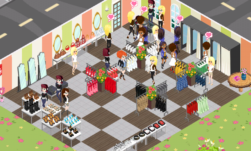 A Fashion Story Game Crime Story