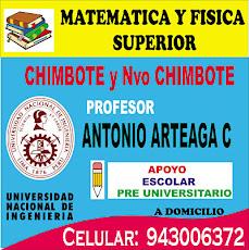 PROFESOR DE MATEMATICAS EN CHIMBOTE Y NUEVO CHIMBOTE