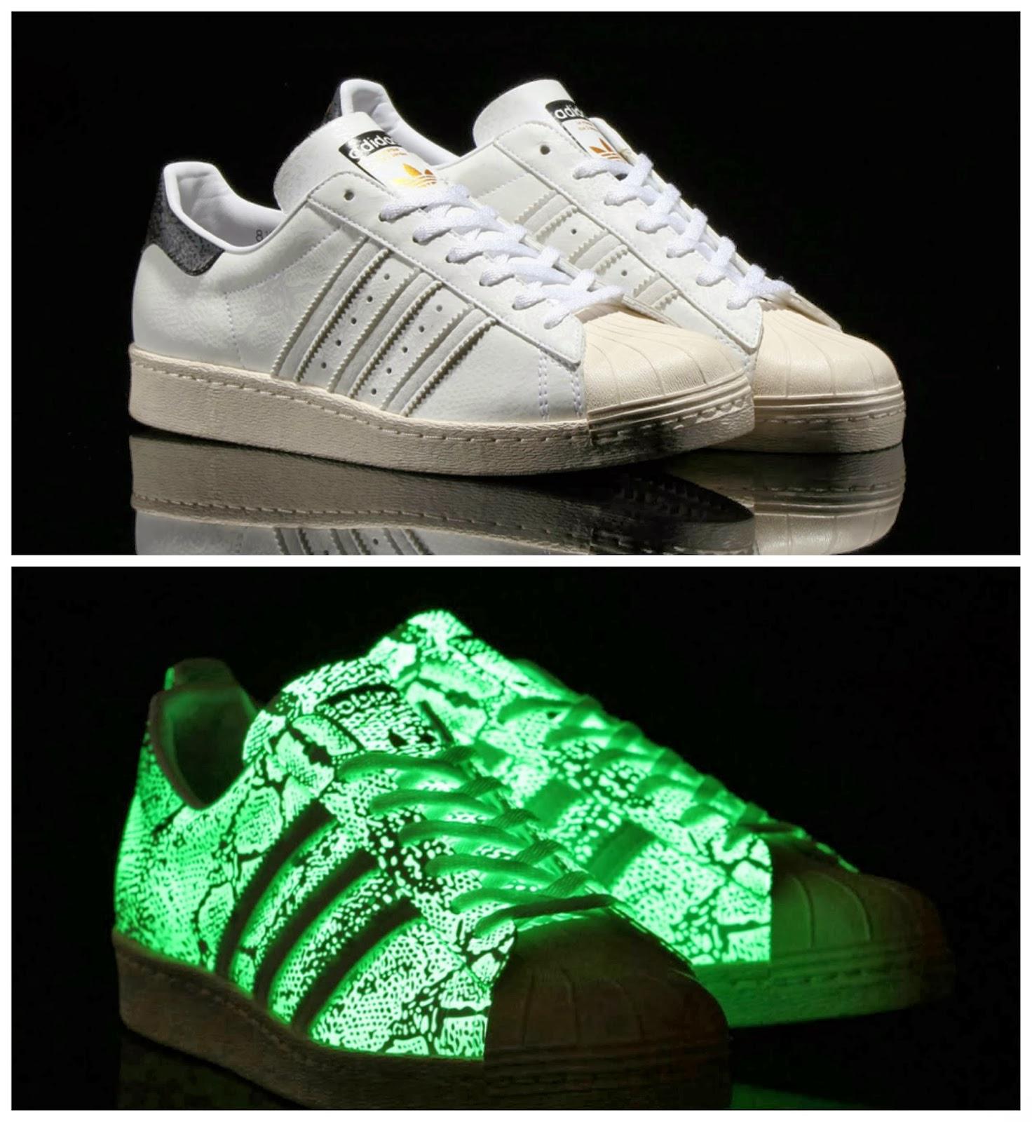 Adidas Superstars Leuchten