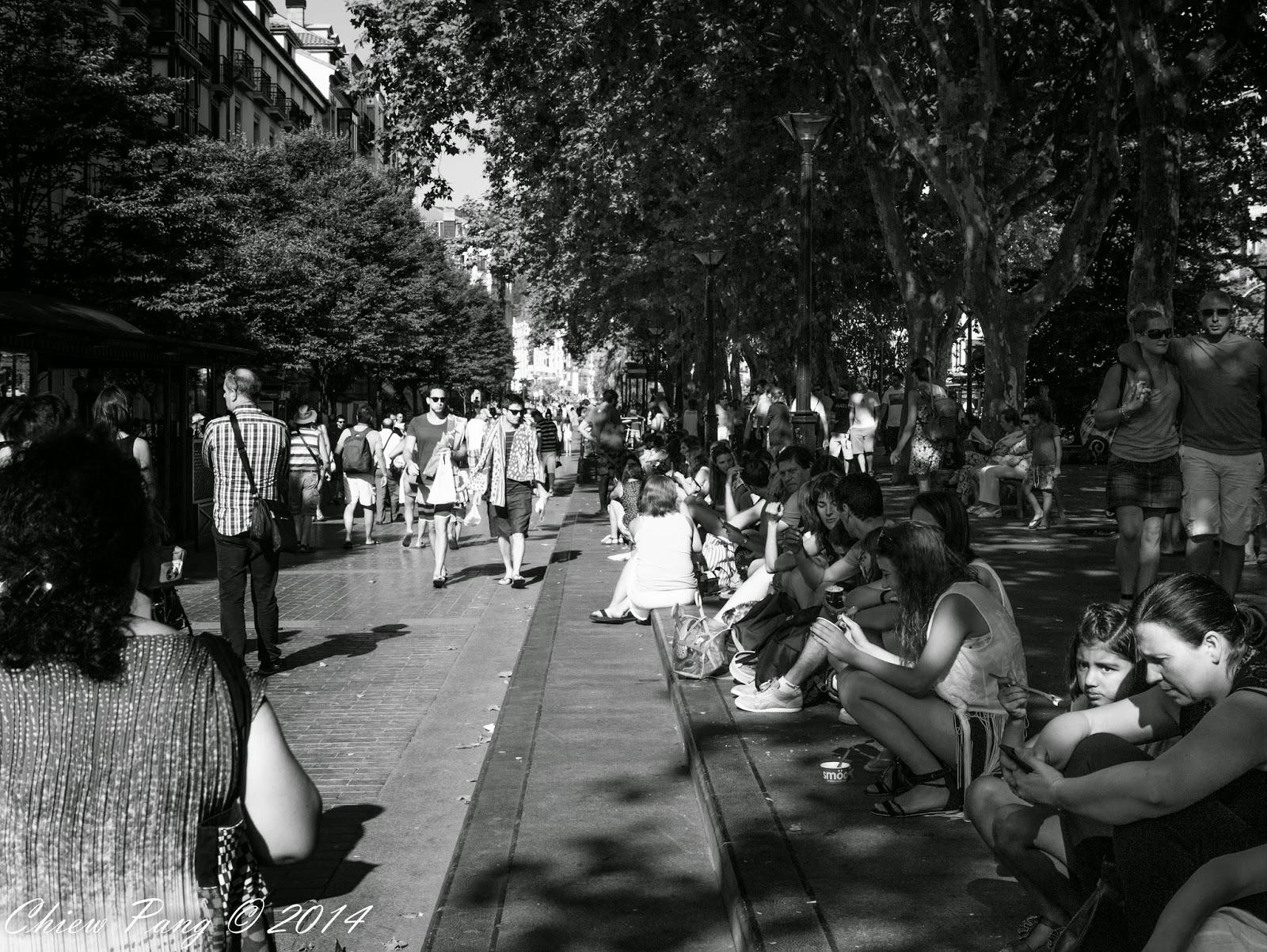 Boulevard Zumardia, Parte Vieja, San Sebastián