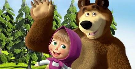 Masha y el oso en inglés - Vídeos y juegos de Clan TV