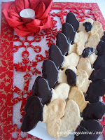 Cynamonowe motylki w czekoladzie