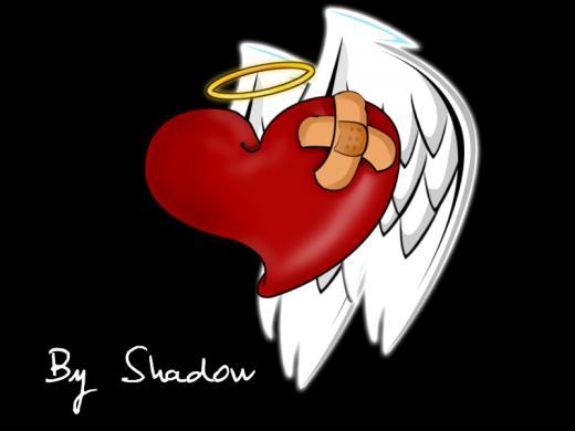 Corazon de amor corazon de amor - Corazon de fotos en pared ...