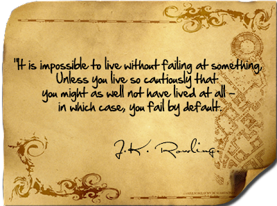 Live Without Failing Quotes