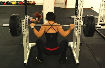 Squats Part 5(a) Low Bar Back Squat