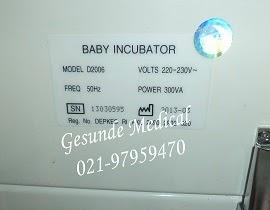 Nameplate Baby Incubator D2006