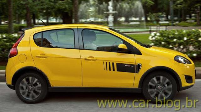 Palio Sporting 2012 amarelo