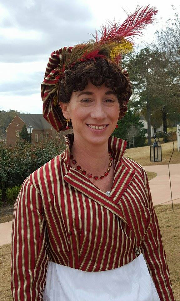 Ms. Moore as Dolley Madison at American Village