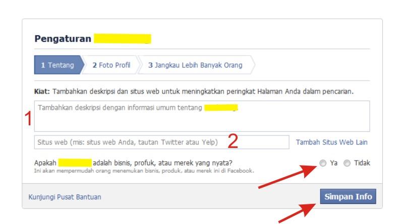 Langkah-langkah Membuat Fanspage di FB Indonesia