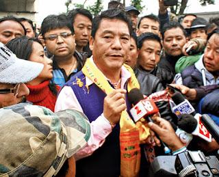 Bimal Gurung  to shuffle GTA Sabha portfolios