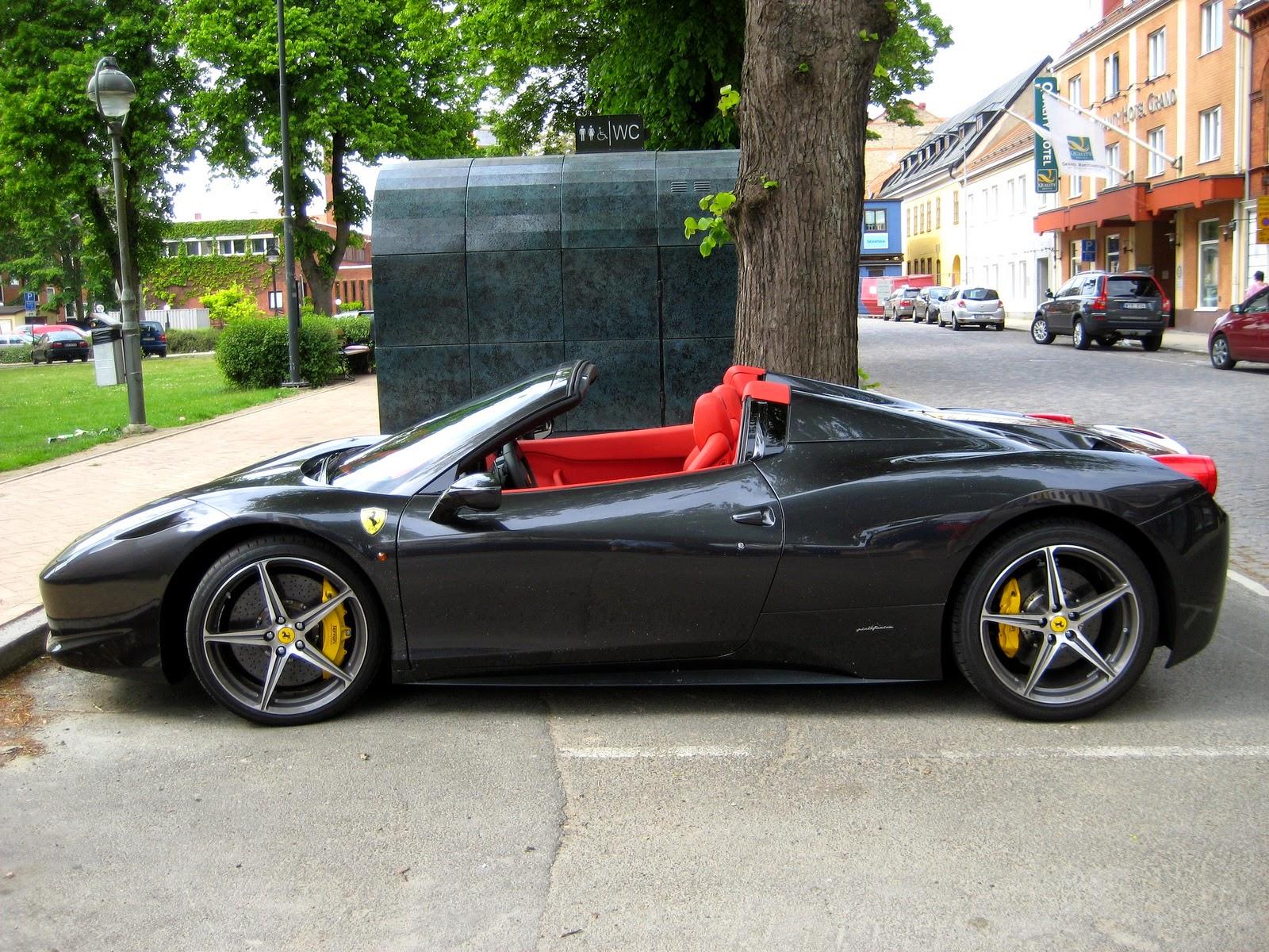 Ferrari cars ferrari 458 black spider ferrari 458 black spider voltagebd Gallery
