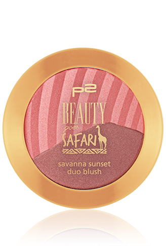 Preview: p2 Limited Edition: Beauty goes Safari - sunset duo eye shadow - www.annitschkasblog.de