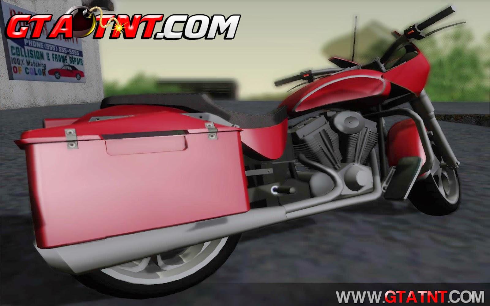 Bagger Convertido do GTA V para GTA San Andreas