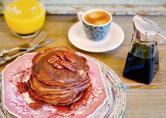 Toffee Nut Pancakes