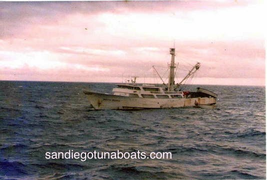 We Lost Another Seiner. The Tuna Boat Betty C Caught Fire And Sank . This  Seiner Was Originally Named The South Pacific When She Was In San Diego.